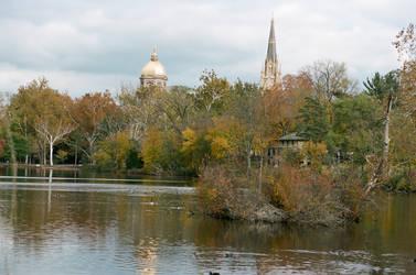 Autumn at Notre Dame 1