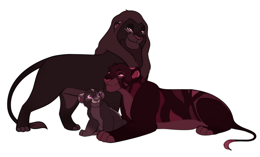 Poisonous Love - Closed - Lion family adoptables 2 by Wolfmylove04