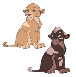 Cubs of OC x OC Cubs for 18gingasoldier by Wolfmylove04