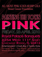 Painting the City PINK - Black by scorpio1583