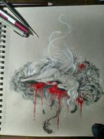 Opium Reverie WIP 2 by Lilia-DeRosso