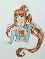 Just Monika by Lilia-DeRosso