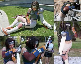Yuffie: Serious Ninja Business by rallamajoop