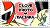 PROTOMAN x KALINKA STAMP by GOTO-MEI
