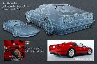 Ferrari 328 GTS Breakdown by nanobot