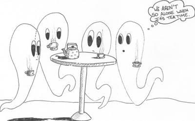 Ghostly Tea Parties by AstroSean