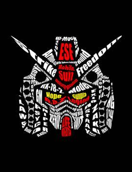 Gundam Typography