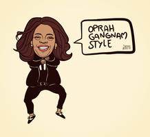 Oprah Gangnam Style