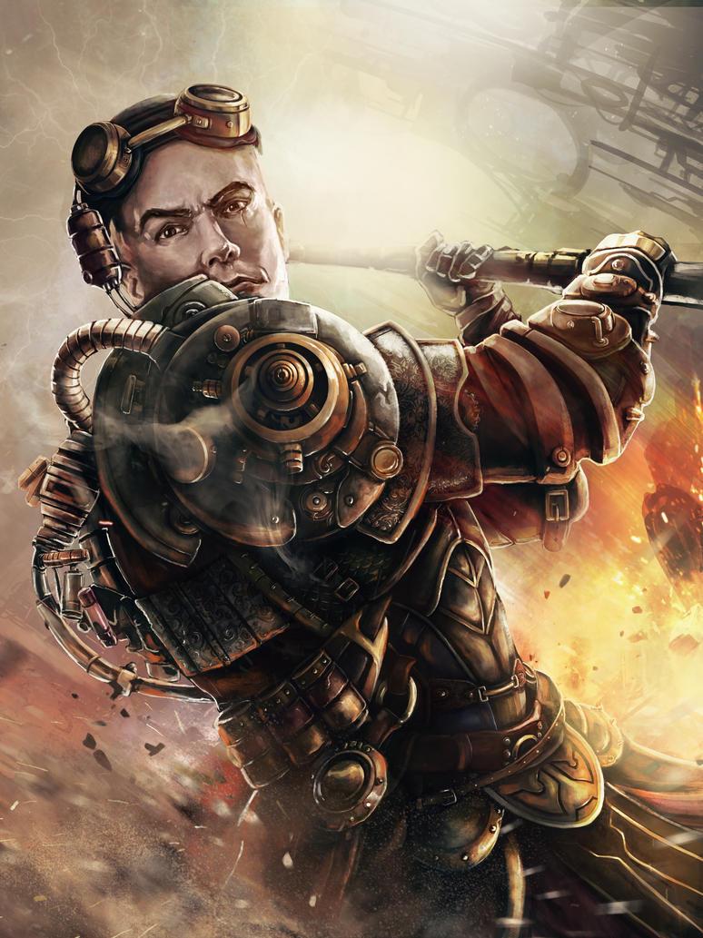 Steampunk Warrior by fredeep on DeviantArt