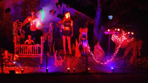 Halloween display 2017