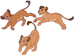 Lion siblings adoptables :OPEN: by Asteradopts