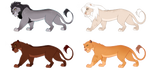Lion adoptables :OPEN: by Asteradopts