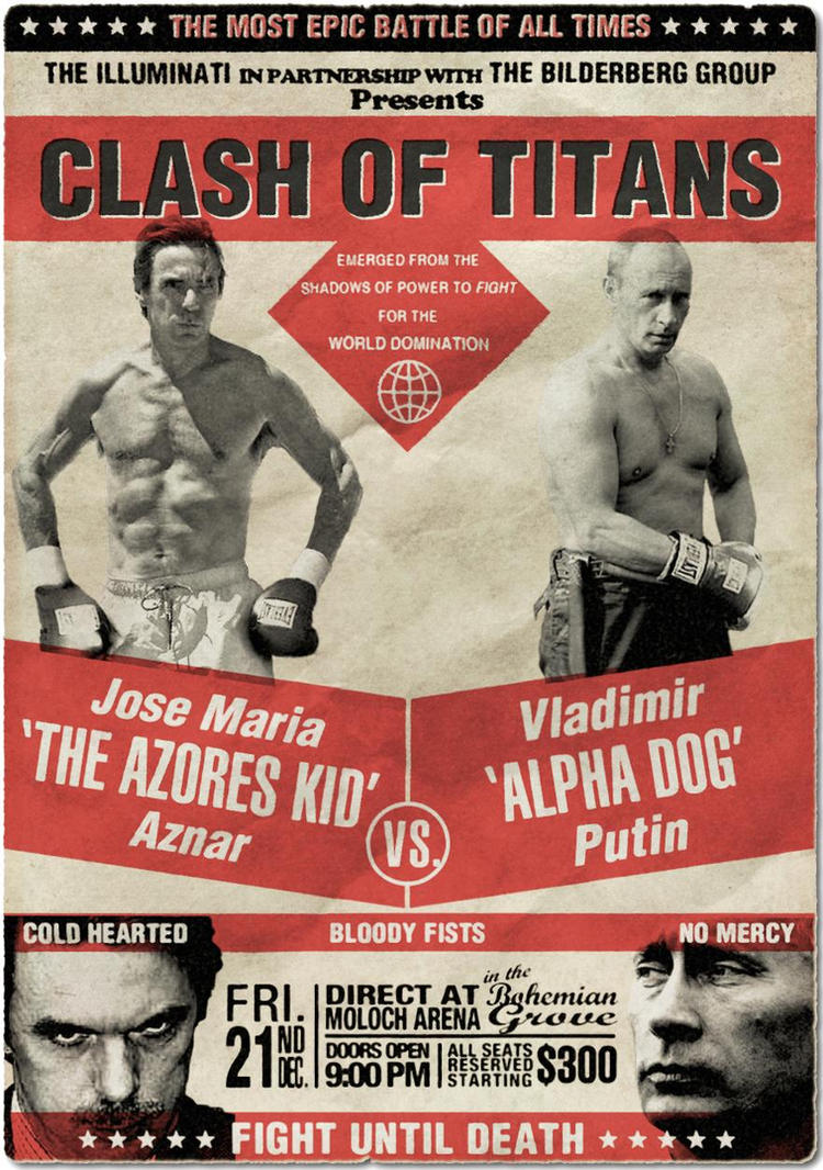 Old Fashioned Boxing Poster