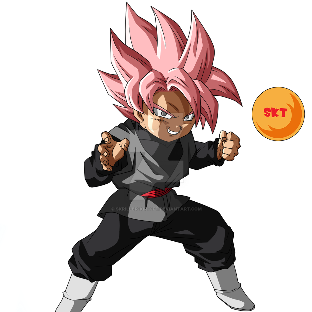 Kid Black Goku Ssjr By Skriller-kiro-ft On DeviantArt