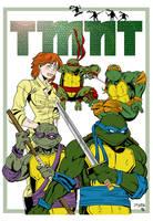 Teenage Mutant Ninja Turtles by Spidey0107