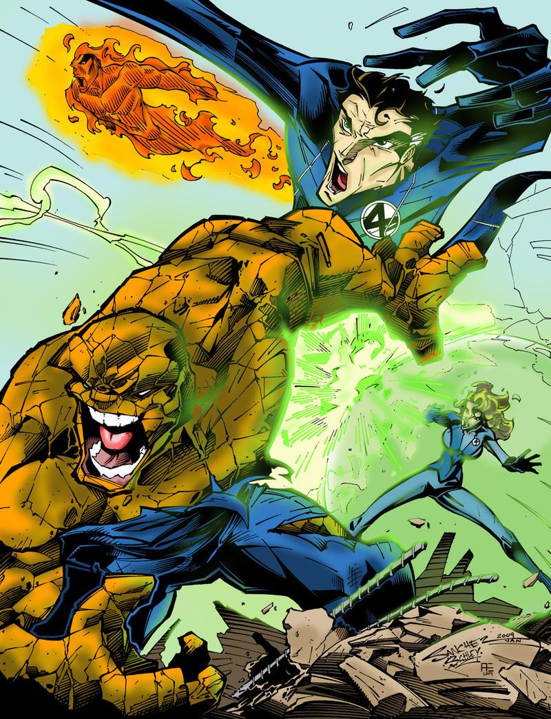 Fantastic Four by Spidey0107