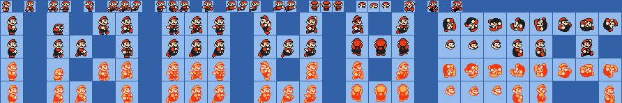 Smb3 Mario With Smw Poses by Guscraft808Beta2