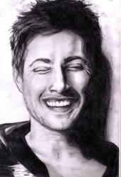 Jensen's laugh by Supernaturalgal3