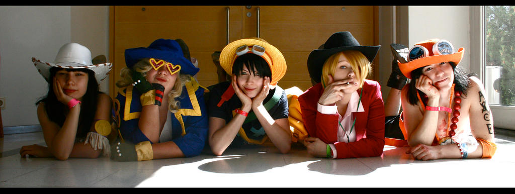 One Piece - The Hat People by nannn