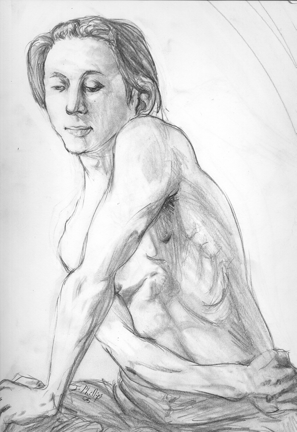 Pencil Self by reversenorm