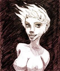Flame Girl by reversenorm