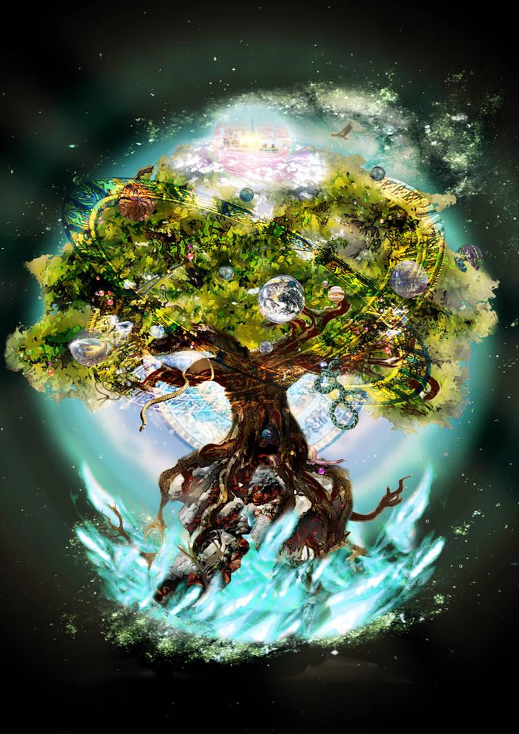 World Tree - For Nobilis by reversenorm