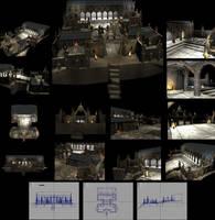 Pandemonium Fortress - 4990 Polygons by reversenorm