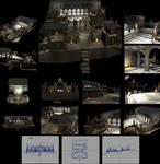 Pandemonium Fortress - 4990 Polygons