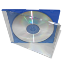 blue cd case png icon by TimHoward