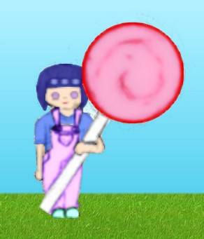 Hinata and Her Lolli - Colored by Hyuuga-Clan-Club
