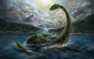 Nessy - Monster of Loch Ness by SarembaArt