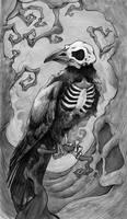 Dark Raven (monochrome)