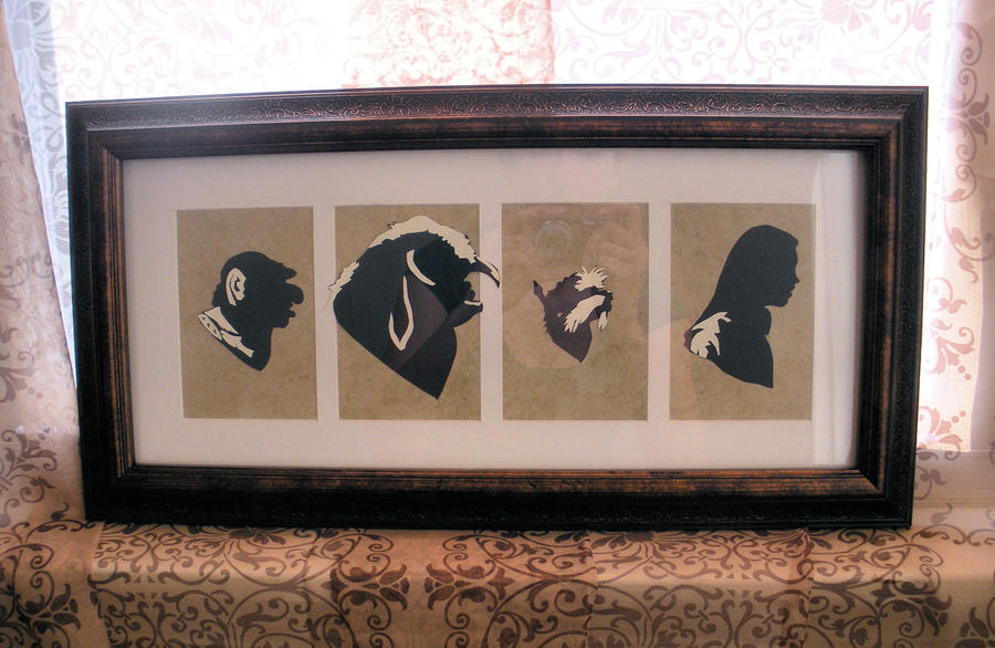Should You Need Us - Labyrinth Silhouettes by Sidhe-Etain