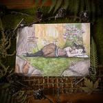 Faun in the Moss