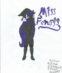 FenrisCo Founder and Teacher: Miss Fenris! by Okamitaro