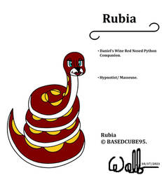 Rubia (New Character for BASEDCUBE95)