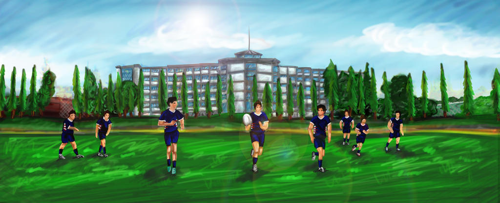 Rugby by delarss