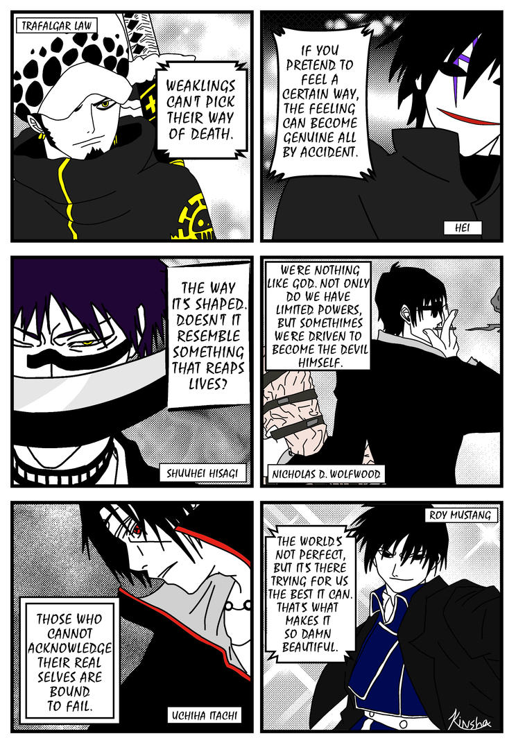 Awesome Quotes From Anime By Kinsha San