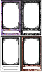 Tarot card templates by FarArden