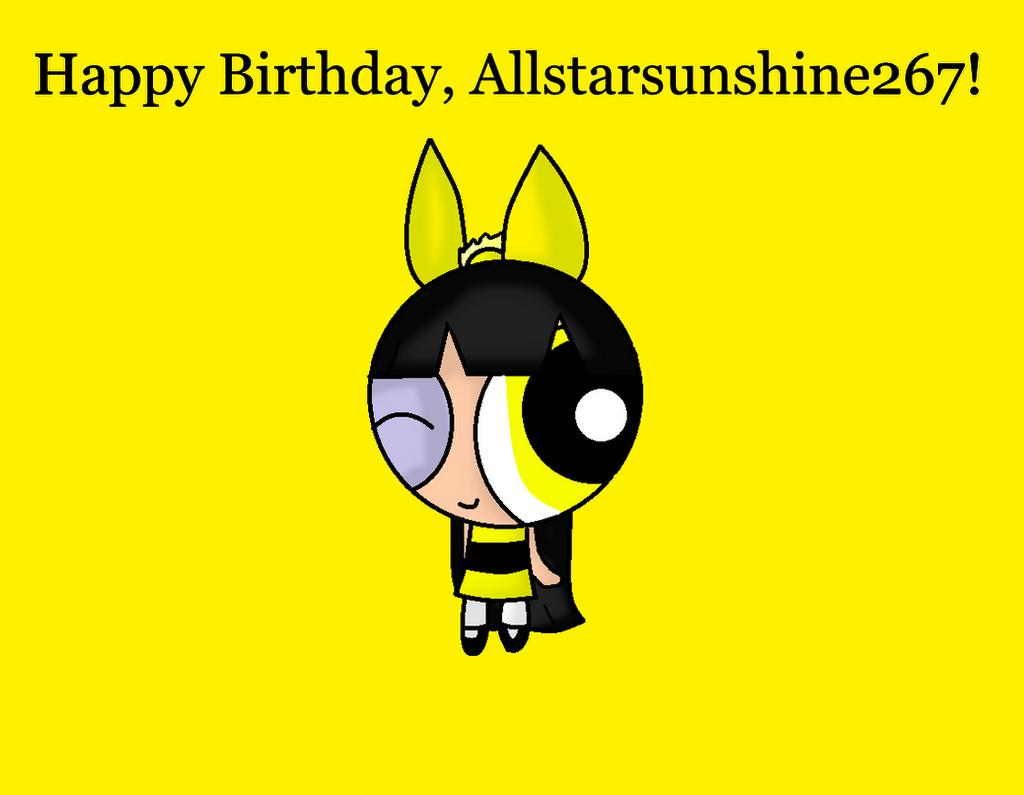 B-day Gift- Sunshine by anilovespeace