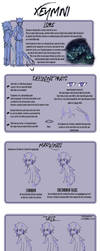 Xeymni Species Reference Sheet by Kamistasia