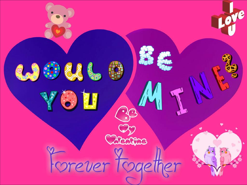 Valentine Day Be Mine? By Bunnydesuuu ...