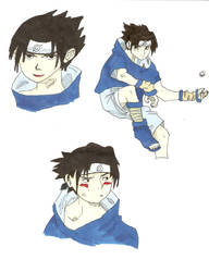 Sasuke x3