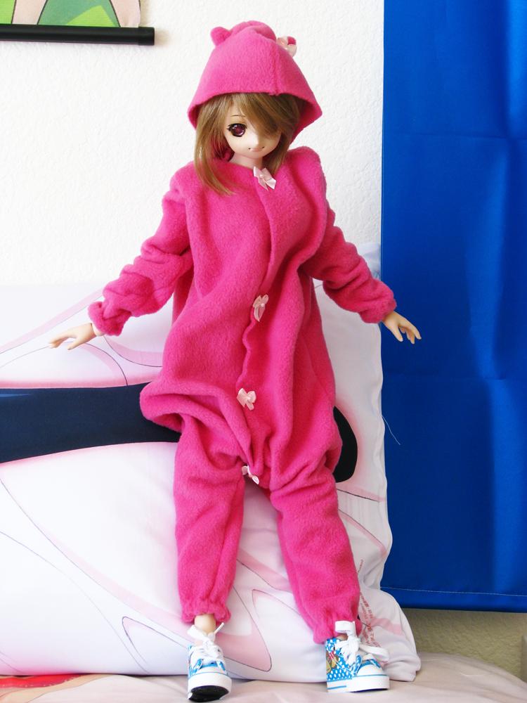 Pink Cat Kigurumi for DD by animagic4u