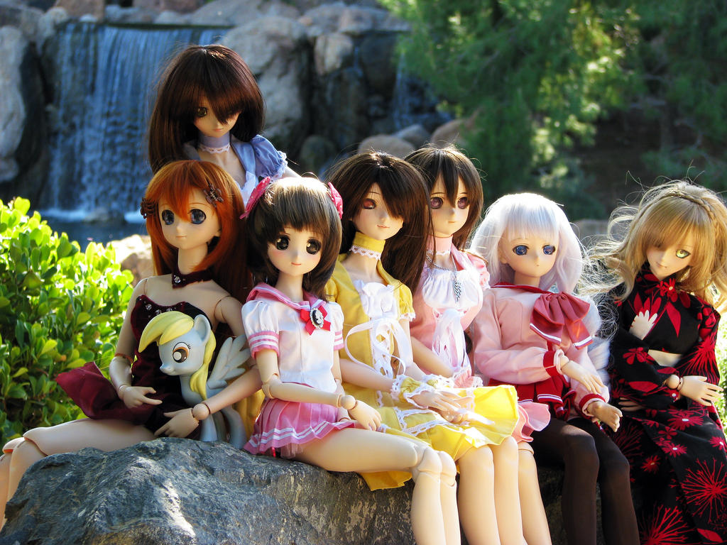 Dollfie Dream Friendship Garden Meetup by animagic4u