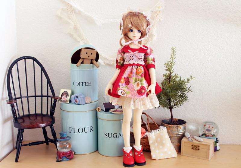 Bunka Doll Costume by animagic4u