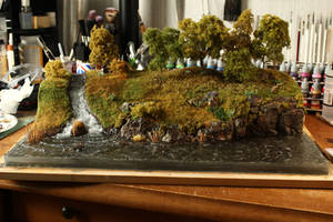Babbling Brook - Diorama