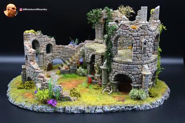 Diorama - Guard Tower Ruins