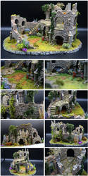 Diorama - Guard Tower Ruins (Montage)