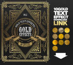 Gold Text Effects for Photoshop